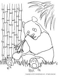 Small Picture Coloring Pages Colouring Pages Activity Bucket Panda Coloring