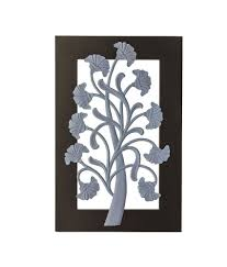 craft art india handmade wooden wall decor hanging mounting decorative life tree scenery for home office