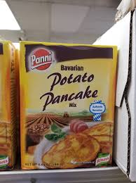 Potato pancakes are quick and easy when you start with a mix. Facebook