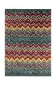 missoni home veuil rug rust e back