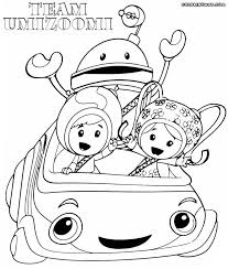 Team Umizoomi Coloring Pages At Getdrawingscom Free For Personal