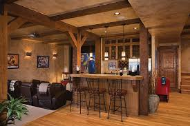 rustic basement bar ideas.  Basement Check Out Unique Impressive Small Basement Bar Ideas Rustic  Design Design Recommendations From Jacqueline Jenkins To Decorate Your For K