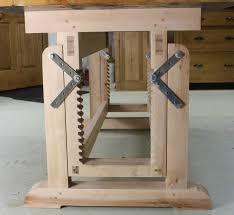wooden desk ideas. best 25 adjustable height desk ideas on pinterest table workbench and dbs bank wooden l