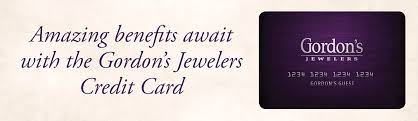 gordon s jewelers credit card apply now
