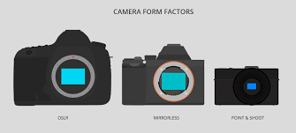 Dslr Sensor Size Chart Mirrorless Cameras A Buying Guide B H Explora