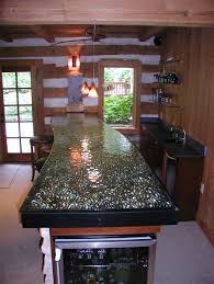 cast glass counter top