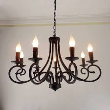 İron chandelier free wrought iron chandelier candles