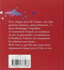 Amazonfr Une Idée Positive Par Jour Janine Casavecchie Livres