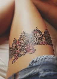 Tetovací Podvazky Na Noze