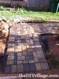 diy paver path tutorial