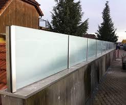 Sichtschutz Aus Glas Mit Milchglasfolie Sichtschutz Maßanfertigung
