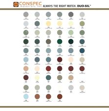Vulkem 116 Color Chart Siroflex Duo Sil Acrylic Urethane Sealant Adhesive Cmi