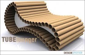 cardboard tube furniture. Architects Cardboard Tube Furniture P