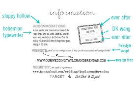 Invitation Insert Templates Henapark Info