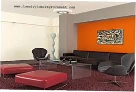 orange wall paintOrange Interior Paint Orange Interior Paint Prepossessing Home