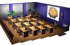 Зал защиты диссертаций СтГАУ Ставрополь Оборудование  Система интегрированного управления собственной разработки позволяет оператору осуществлять управление всем комплексом не используя никаких дополнительных