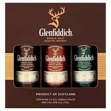 glenfiddich mix pack 3x5cl