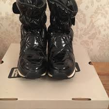 Rubber Duck Snow Joggers Snow Boots Size 5 38 Shiny Depop
