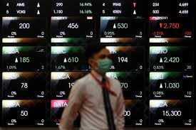 Idx Stock Chart Indonesia Stocks Higher At Close Of Trade Idx Composite