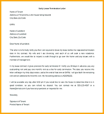 Notice Of Lease Termination Letter From Landlord To Tenant End Of Tenancy Agreement Letter From Landlord Template Navyaadance Com