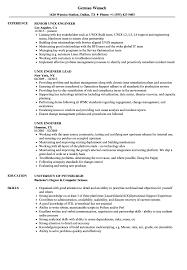 Unix Engineer Resume Samples Velvet Jobs