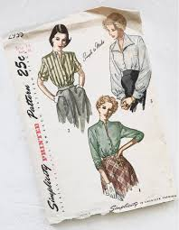 Vintage Simplicity Patterns Unique Design
