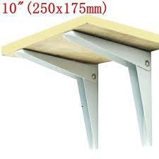 10 inch shelf free metal wall brackets glass microwave folding shelf brackets length 10 wide 10 inch shelf
