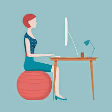 ility ball vs standard office chair which is best throughout yoga ball desk chair