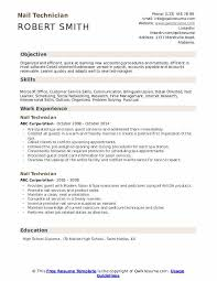 Customers Service Job Description Nail Technician Resume Samples Qwikresume