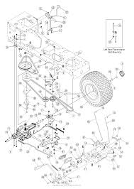 Troy bilt 13at609g766 super bronco 2005 parts diagram for drive rh jackssmallengines john deere l120
