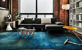 bold overdyed rug