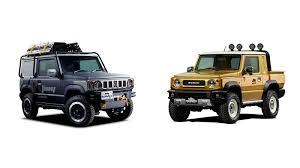 Suzuki Jimny pickup truck concept to debut at Tokyo Auto Salon ...