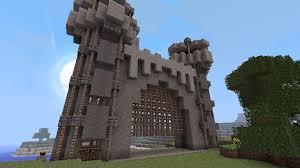 Davids Castle Gate Minecraft Project