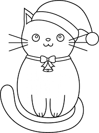 Kitten Coloring Pages Animal Coloring Pages Christmas Cats