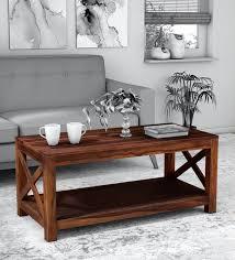 kryss solid wood coffee table in
