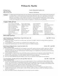 Technical Resume Resume Technical Skills Fungramco 68