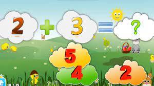 Game giáo dục trẻ em | Bé học toán | Phép cộng, phép trừ từ 1- 9 - YouTube