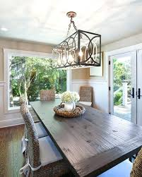 dining table chandelier how to hang a dining room chandelier at the perfect height every time