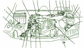oxygen sensor heater relaycar wiring diagram 1994 suzuki sidekick front fuse box diagram