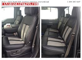 2016 2016 ford f150 leather interior installed customer
