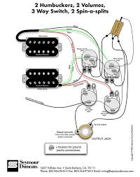 17 best images about wireing bass cigar box nation seymour duncan wiring diagram 2 humbuckers 2 vol 3 way 2 spin