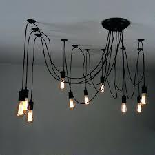 primitive lighting fixtures. Primitive Ceiling Lighting Impressive Swag Pendant Light Adjustable Multiple Black Fixtures