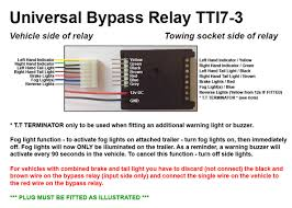 towbar relay wiring diagram wiring diagram for you • universal 7 way bypass relay towing electrics towbar 5 pin relay wiring diagram towbar split charge