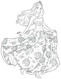 Free Princess Printables Coloring Pages Barbie Printable Co