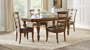 Cindy Crawford Home Notting Hill Cherry 5 Pc Dining Room