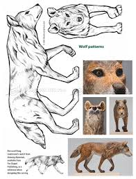 Carving Patterns Magnificent Wolf Carving Wood Carving Patterns WoodArchivist