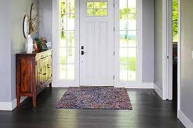 entry rug ideas neutral style