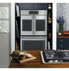 ge cafe wall ovens series built in double convection wall oven ge cafe series double wall