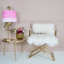 mongolian fur chair amazing gold armchair directors audenza with regard to 21