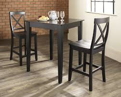 Kitchen Table Sets Black Black Kitchen Tables Black Tall Kitchen Table With 8 Gray Chairs